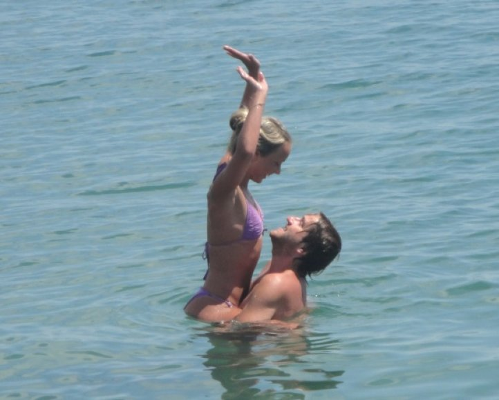 Gediminas ir Dovilė, bikini porelių konkursas