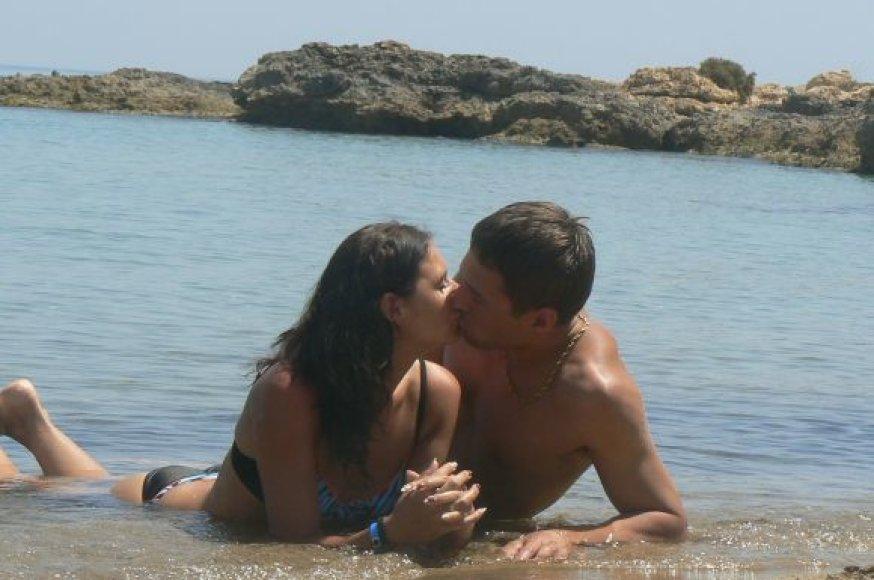 Neringa ir Valdas, bikini porelių konkursas