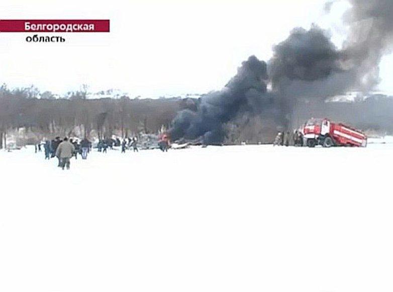 "Rusijos lėktuvo ""An-148"" katastrofa: žuvo visi lakūnai"