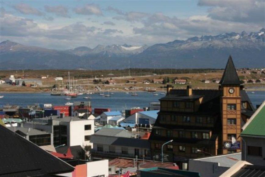 Vaizdas pro viešbučio langą