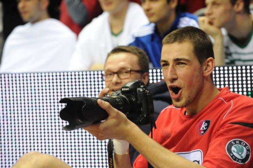 Jonas Valančiūnas ruošiasi NBA naujokų biržai