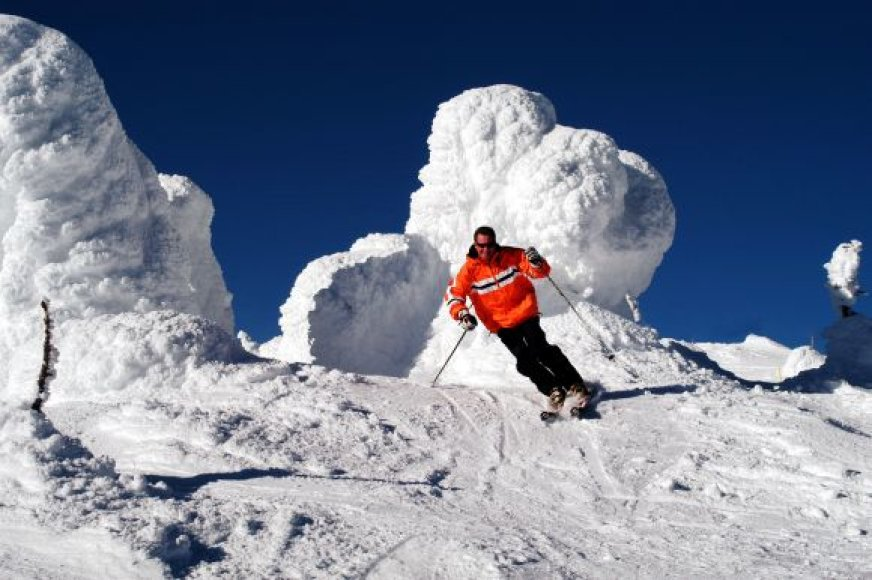Pasaulio lietuvių slidinėjimo varžybos Antarktidoje