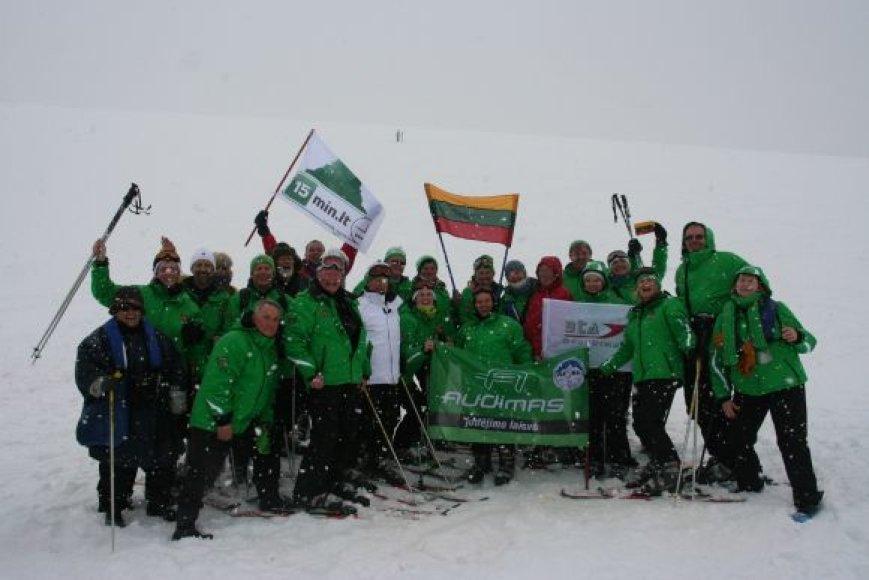 Pasaulio lietuvių ekspedicija į Antarktidą