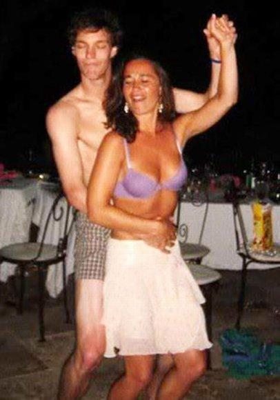 Pippa Middleton pašėlusiame vakarėlyje