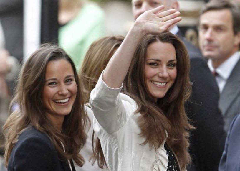 Pippa Middleton grožiu pranoksta savo seserį Kate