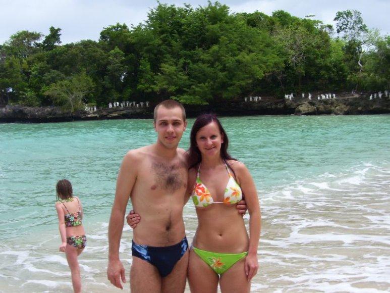 Bikini porelė: Auksė ir Andrius