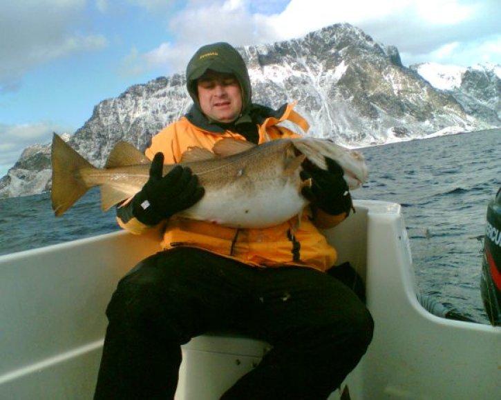Dariaus žūklės laimikiai: taip atrodo 10-15 kg sveriančios žuvys