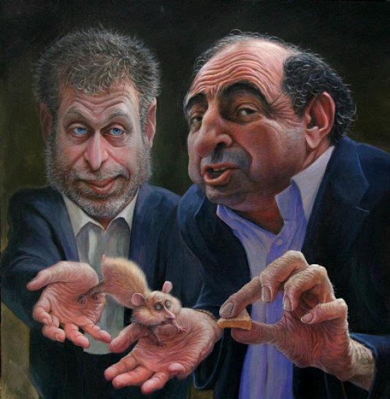 Ką šeria oligarchai Romanas Abramovičius ir Borisas Berezovskis?