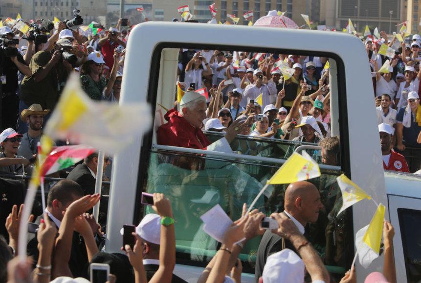 Popiežius Benediktas XVI Libane