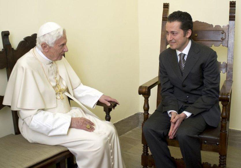 Popiežius Benediktas XVI ir Paolo Gabriele