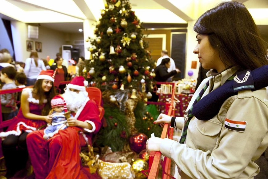 Kalėdos Damaske