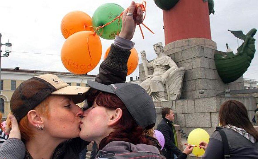 Sankt Peterburgo milicija buvo tolerantiškesnė seksualinėms mažumoms.