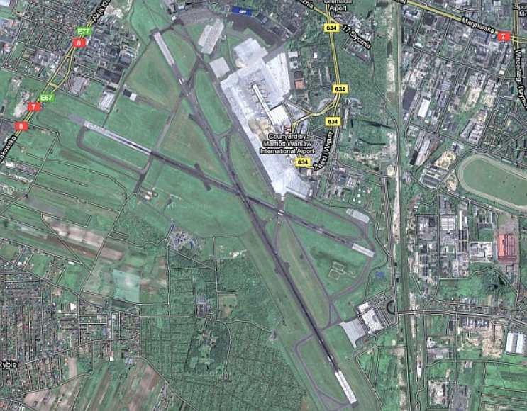 Varšuvos F.Chopino oro uostas