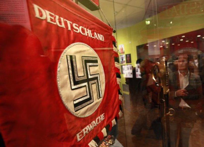 Nacistinės Vokietijos laikų vėliava