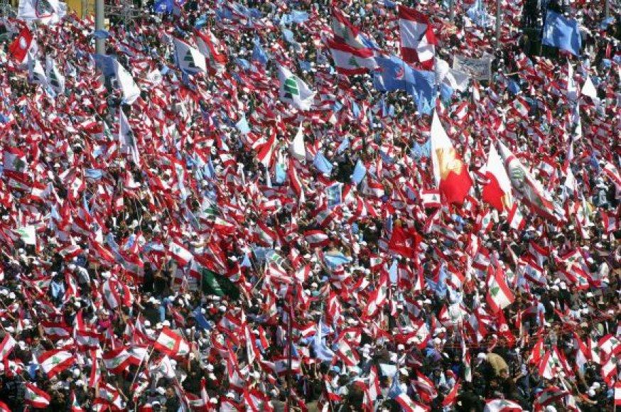Beirute susirinko taikos ir nusiginklavimo šalininkai.