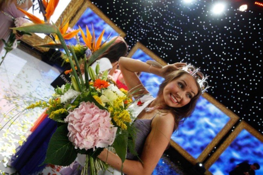 Konkurso nugalėtoja Ieva Gervinskaitė