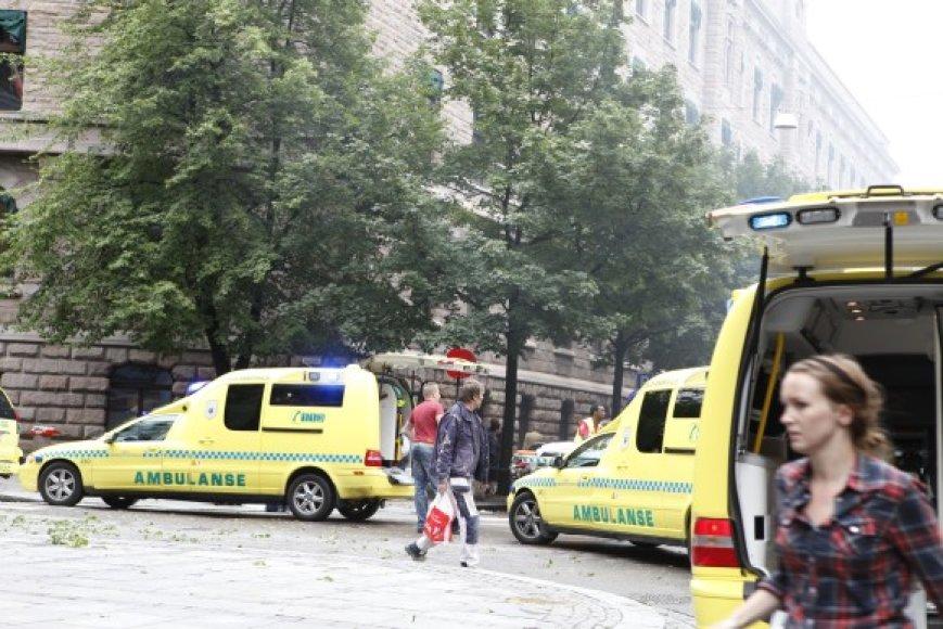 Norvegijos sostinę sudrebino sprogimas.