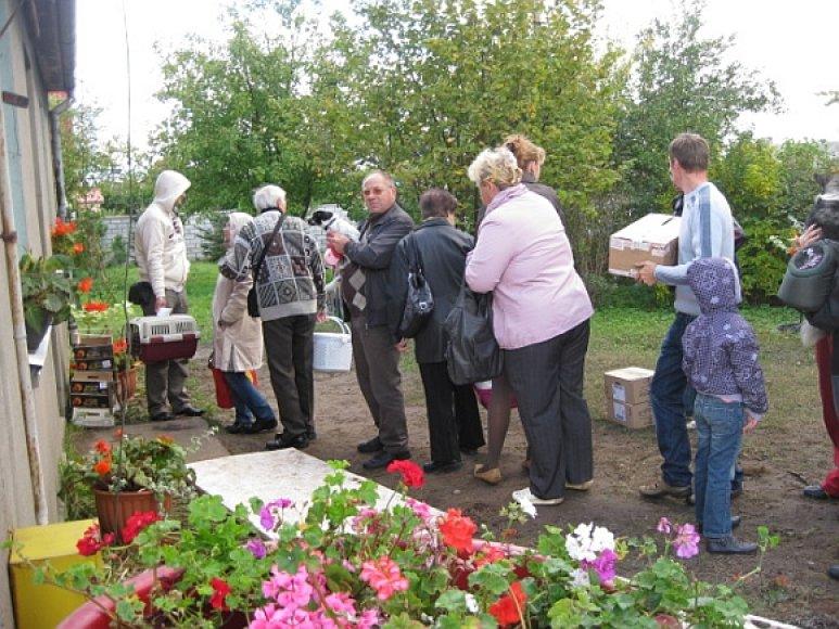 Žmonės iš Klaipėdos miesto ir viso Klaipėdos rajono labai džiaugėsi užsieniečių daktarų akcija.
