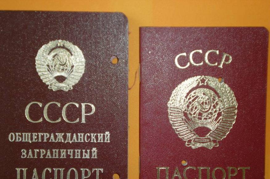 SSSR dokumentai