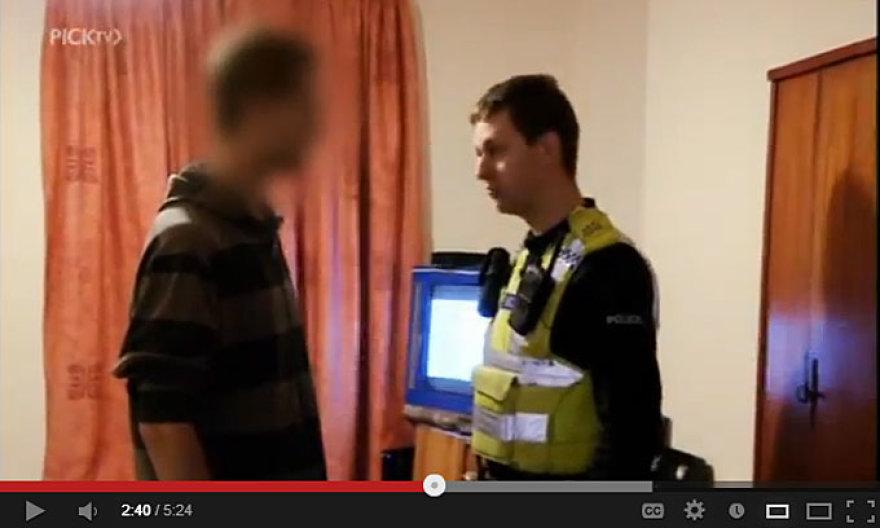 Mūsų tautiečio ir Anglijos policininko pokalbis