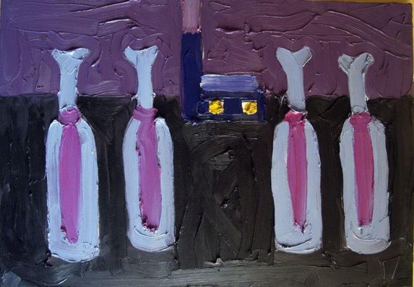 """Alono Štelmano paveikslas """"Inteligentai"""". 2011"""