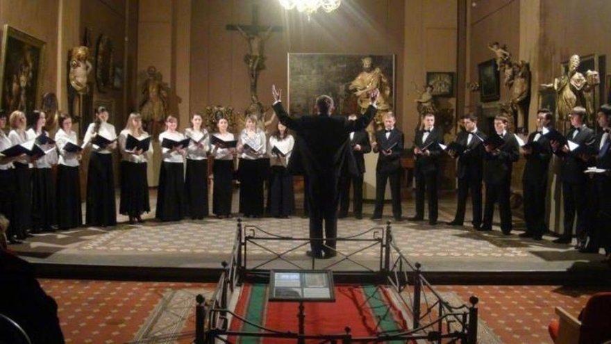 "Ukrainos Ivano-Frankovsko kamerinis choras ""Vaskresinnia"""