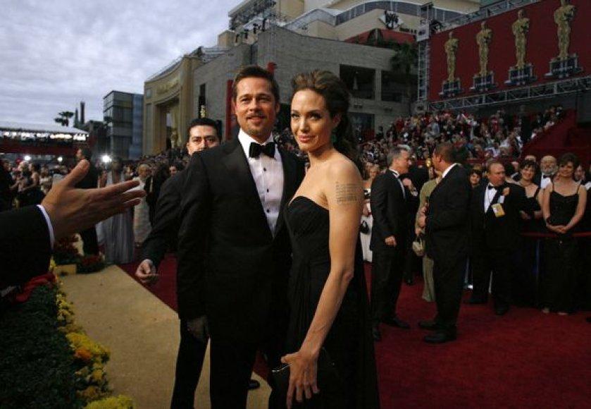 Jolie ir Pittas