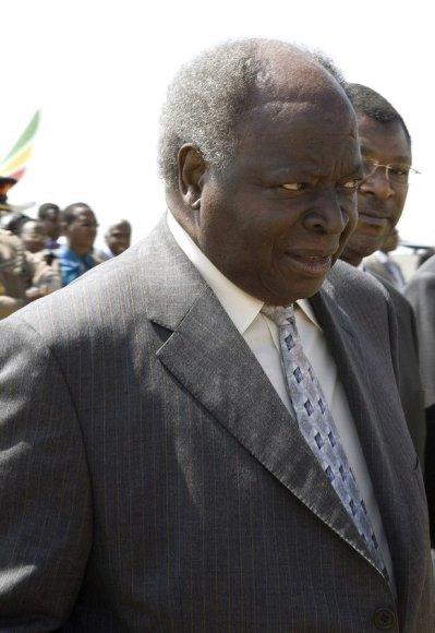 Kenijos prezidentas Kibaki