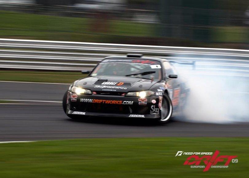 """Phil Morrison (Nissan S15 """"Driftworks"""")"""