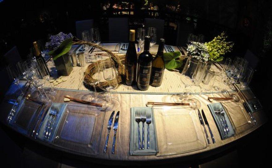 Stalo įrankiai, kuriais valgys įžymybės