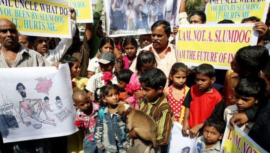 Vaikai protestuoja prieš filmo kūrėjus