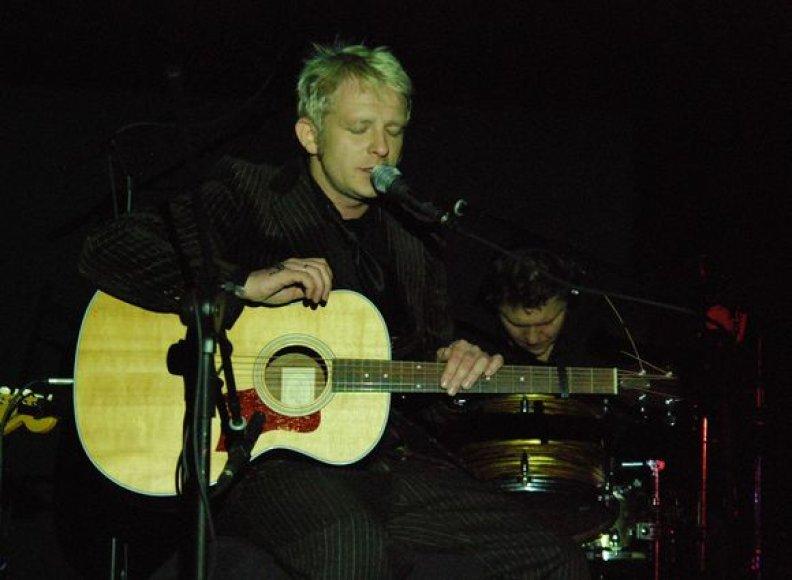 """Biplan"" koncertas įvyko Vilniaus planetariume."