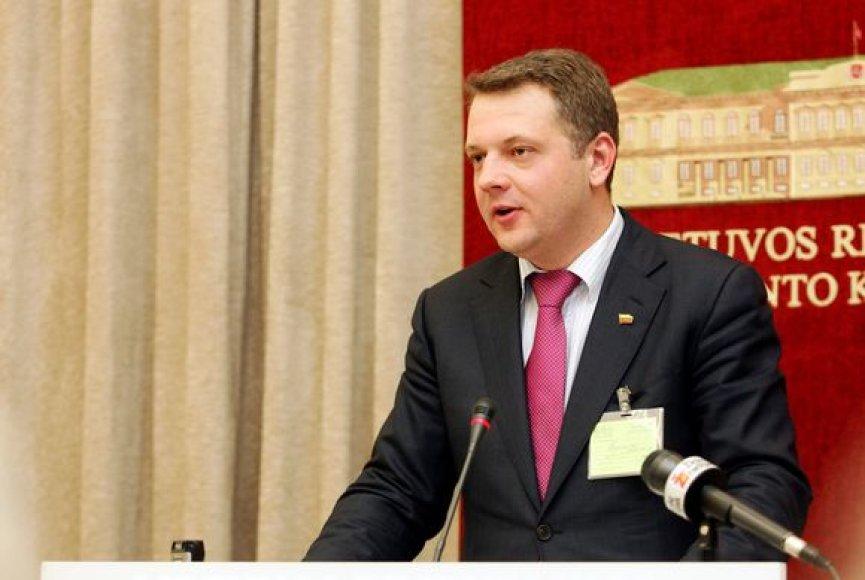 Eligijus Masiulis – susisiekimo ministras