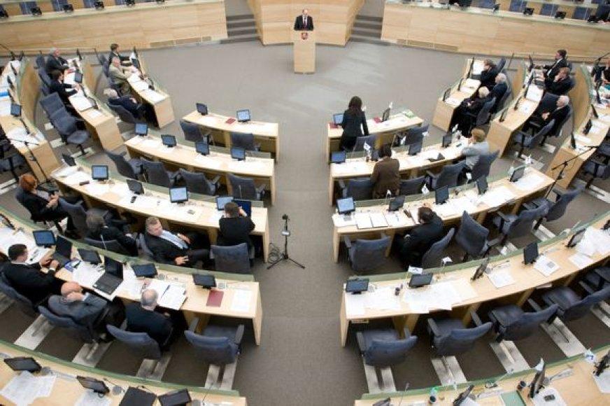 Patalpų parlamente ypač pradėjo trūkti, kai Seimo komitetų biuruose buvo papildomai įsteigti patarėjų ir padėjėjų etatai.