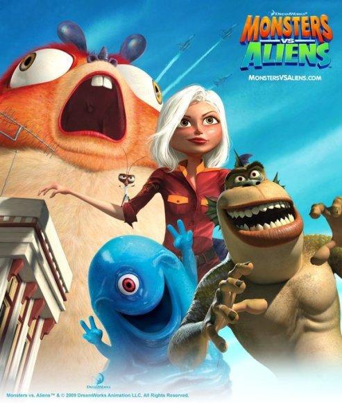 Filmas: Monstrai prieš ateivius