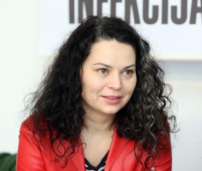 S.Straukaitė rūpinosi grupės T.A.T.U. įvaizdžiu.
