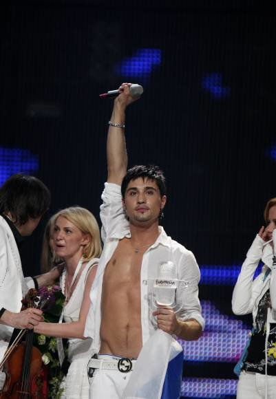 """""""Eurovizijos"""" nugalėtojas D.Bilan'as"""