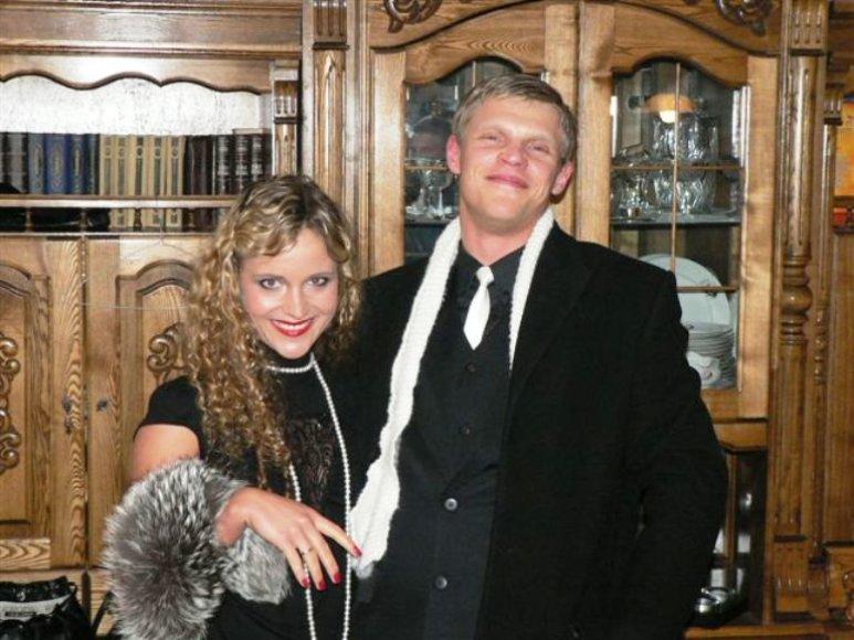 Šokėja Edita Daniūtė dievina teminius vakarėlius .