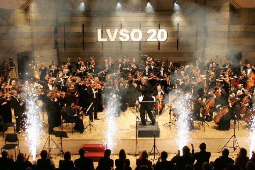 LVSO 20-ies metų jubiliejaus koncertas