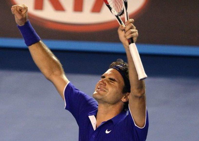 Sekmadienį R.Federeris turės progą laimėti ketvirtą turnyro Melbrune titulą