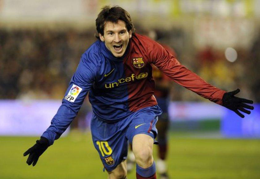 Jei ne argentinietis L.Messi, Barselonos komanda galėjo ir suklupti.