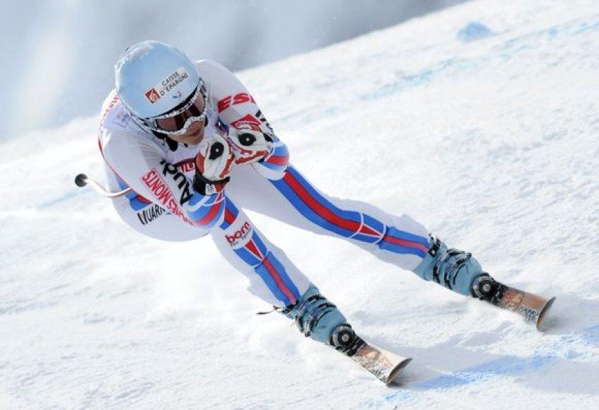 L.Vonn laimėjo auksą 1926 m ilgio didžiausiojo slalomo rungtyje.
