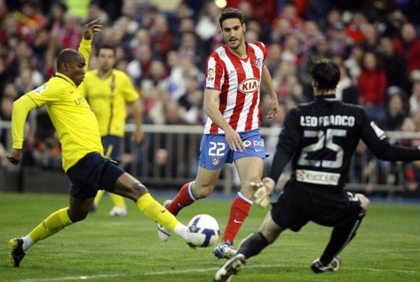 """""""Barcelona"""" komandai trijų įvarčių pergalei neužteko."""