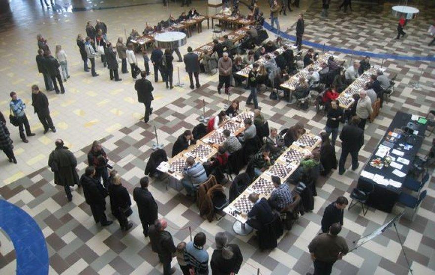 Savaitgalį šachmatų klubai išsiaiškino geriausiuosius.