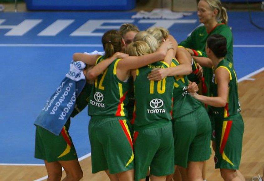 Pasirengti Europos čempionatui Lietuvos moterų rinktinė turės mėnesį.