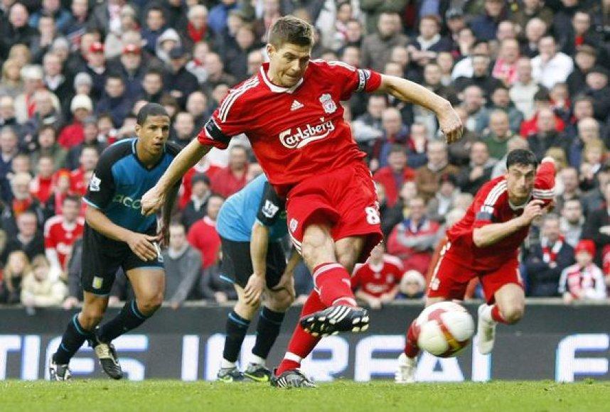 Nugalėtojams S.Gerrardas pelnė net 3 įvarčius.