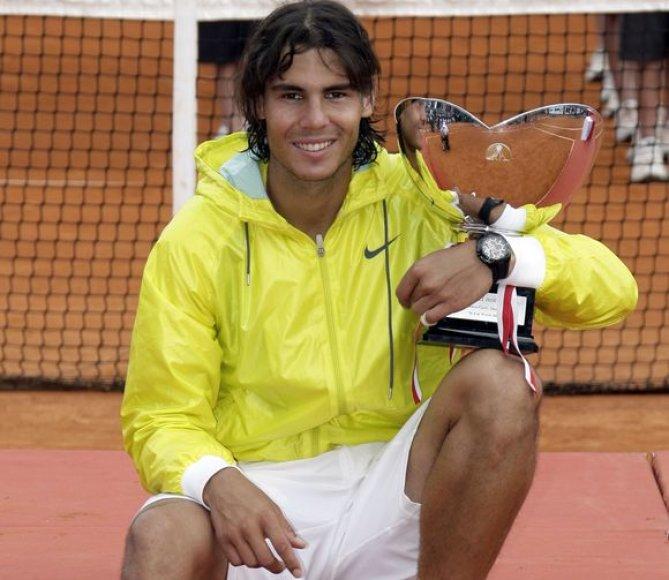 Monake R.Nadalis triumfavo jau penktą kartą iš eilės.