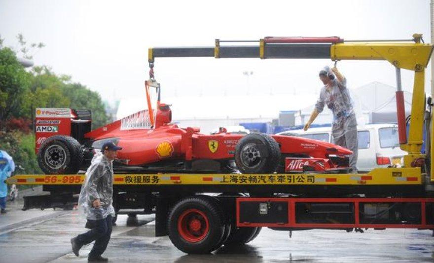 """""""Ferrari"""" ateitis paaiškės po etapo Ispanijoje"""