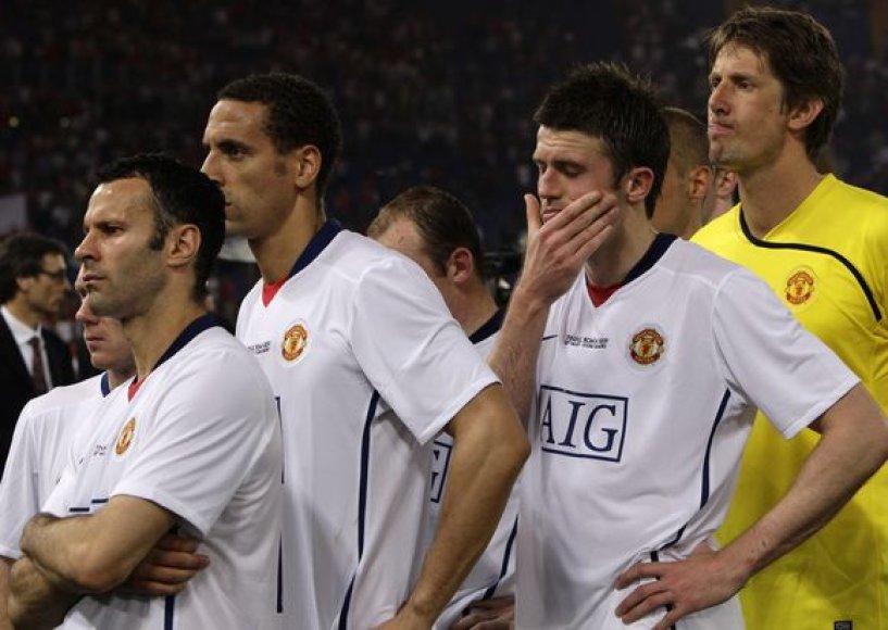 """""""Manchester United"""" žaidimas subyrėjo po ankstyvo praleisti įvarčio"""
