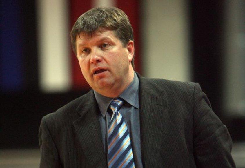 R.Kuncaitis paskirtas studentų krepšinio rinktinės treneriu